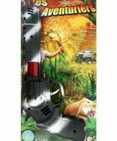Originele camouflage speelgoed pistool carnavalskleding