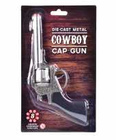 Originele carnaval accessoires western plaffertjes pistool schots carnavalskleding