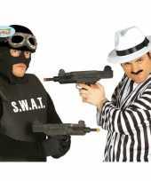 Originele carnaval uzi speelgoed pistool carnavalskleding