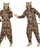 Originele carnavalskleding luipaard all one volwassenen