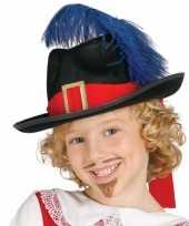 Originele carnavalskleding musketier accessoire kind