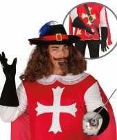 Originele carnavalskleding musketier accessoire volwassenen 10064667
