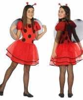 Originele dieren carnavalskleding lieveheersbeestje verkleed carnavalskleding carnavalskleding meisj