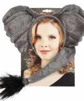 Originele dieren verkleedset elephant carnavalskleding