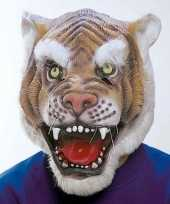 Originele dierenmasker tijger carnavalskleding