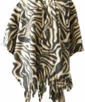 Originele fleece omslagdoeken carnavalskleding 10043348