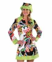 Originele flower power hippie carnavalskleding dames