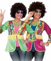 Originele franje vestje hippie dames carnavalskleding