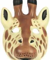 Originele giraffe masker soft foam materiaal carnavalskleding