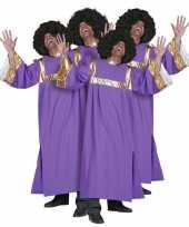 Originele gospel koor kleren dames heren carnavalskleding