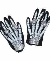 Originele halloween handschoenen licht carnavalskleding