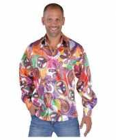 Originele hippies blouses heren fun carnavalskleding