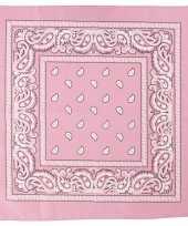 Originele hobby doek roze x carnavalskleding