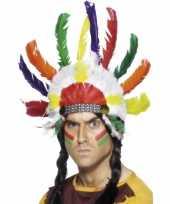Originele indianen hoofd tooi carnavalskleding