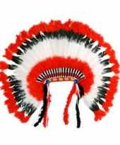 Originele indianen hoofdtooi carnavalskleding