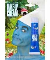 Originele kabouter schmink blauw carnavalskleding