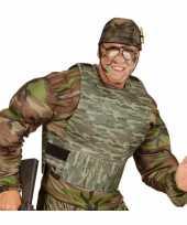 Originele kogelvrij camouflage vest carnavalskleding