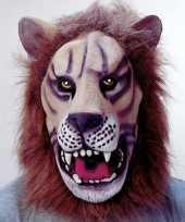Originele leeuw maskers carnavalskleding