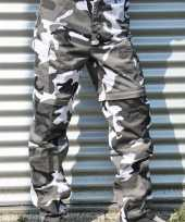 Originele leger print broeken urban carnavalskleding