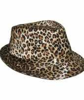 Originele luipaard print hoeden carnavalskleding