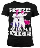 Originele miami vice freeze t shirt dames carnavalskleding