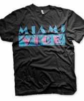 Originele miami vice t shirt heren carnavalskleding