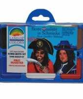 Originele musketiers schmink setje carnavalskleding