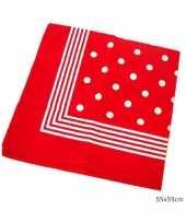 Originele ouderwetse zakdoeken carnavalskleding
