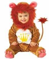 Originele pluche leeuwen carnavalskleding babys