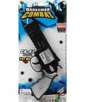 Originele politie militair speelgoed pistool carnavalskleding
