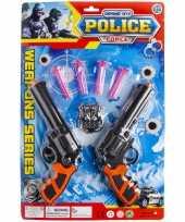 Originele politie speelgoed set kinderen carnavalskleding