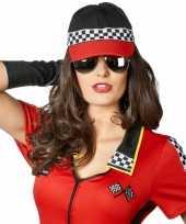 Originele racing baseball cap dames heren carnavalskleding