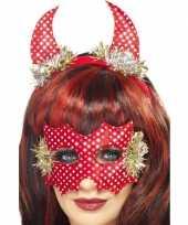 Originele rode duivel set carnavalskleding 10059150