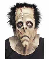 Originele rubber masker een frankenstein carnavalskleding