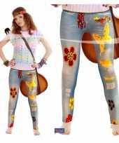 Originele sixties legging jeanslook carnavalskleding