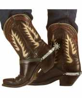 Originele sporen cowboy laarzen carnavalskleding