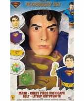 Originele superman accessoires kids carnavalskleding