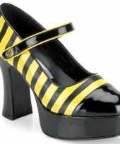 Originele thema schoenen bijtje carnavalskleding