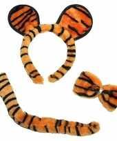 Originele tijger verkleed set carnavalskleding