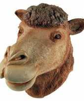 Originele verkleed masker kameel carnavalskleding