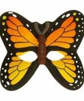 Originele vlinder feestmasker carnavalskleding