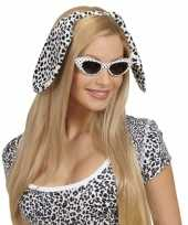 Originele wit zwarte oren dalmatier carnavalskleding