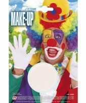 Originele witte schmink make up carnavalskleding