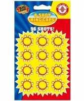 Originele x plaffertjes ringen een schots pistool carnavalskleding