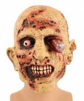 Originele zombie vermomming masker carnavalskleding