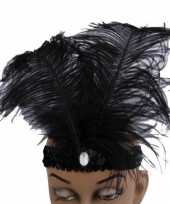 Originele zwarte glimmende hoofdbanden carnavalskleding